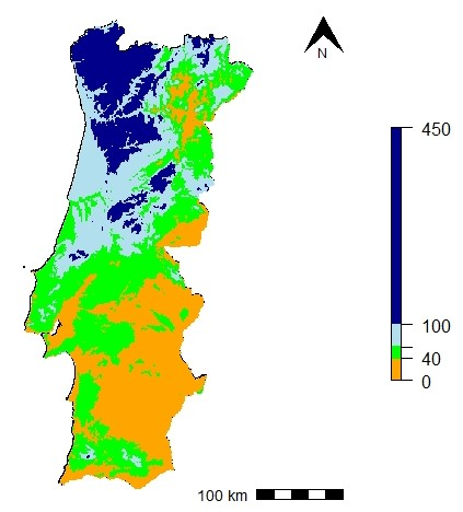 Lang index in Portugal