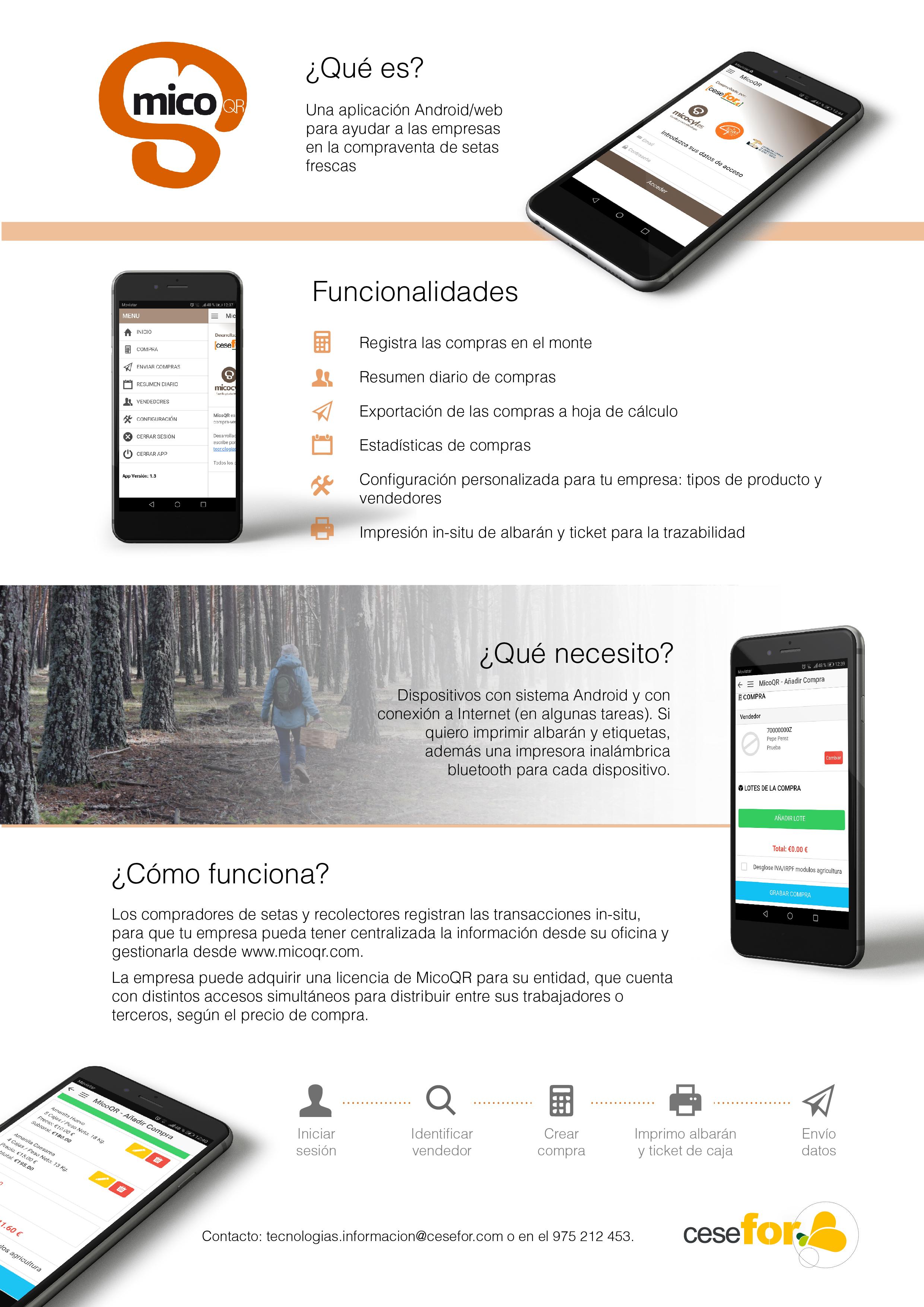 Informative flyer MicoQR