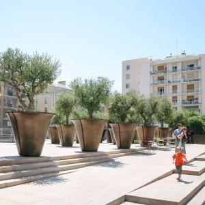 Marseilles public garden