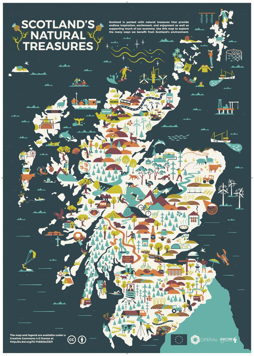 Scotland\'s Natural Treasures – an illustrated ecosystem ...