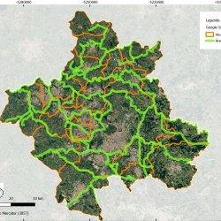 Reconecta metropolitan region ecological connectivity plan