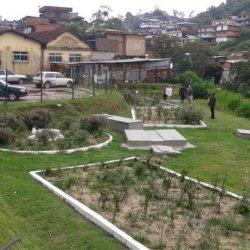 Nature-based solution to treat waste water: biodigestor and built wetland in Vila Ipanema, Petrópolis.