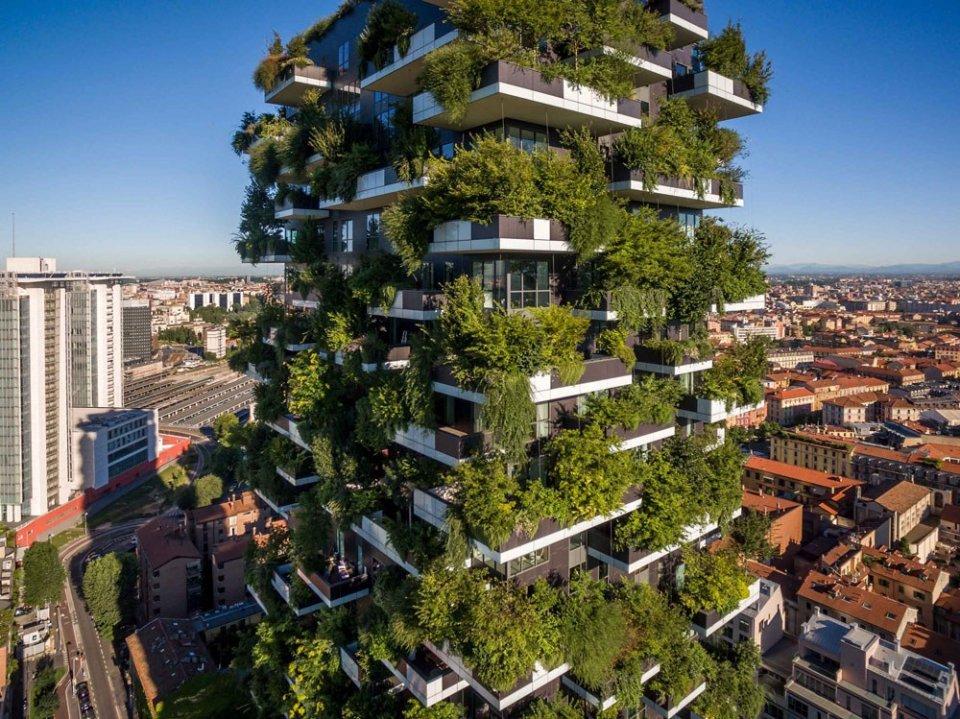Milan: Bosco verticale (vertical garden) | Oppla