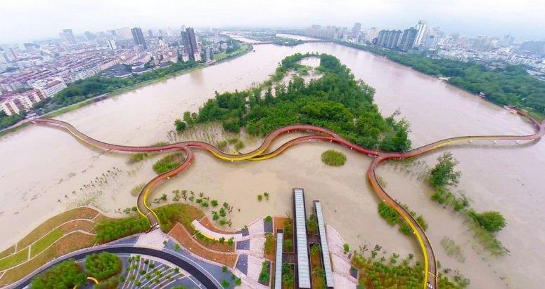 Yanweizhou Wetland Park