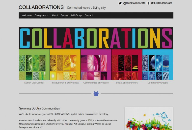 Collaboration website