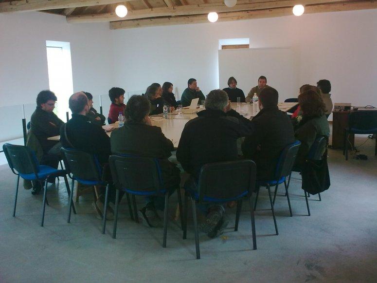 Meeting of Mesa del Castaño del Bierzo