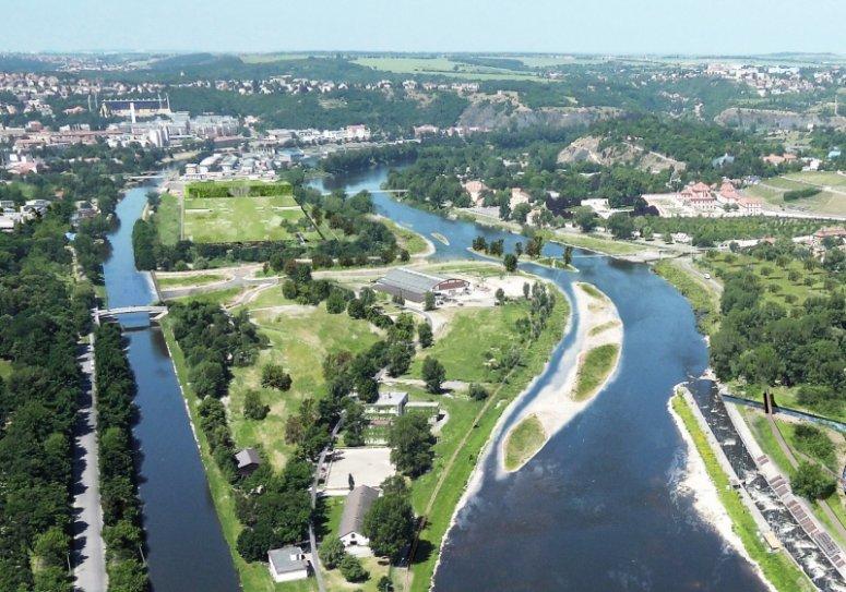 Imperial Island (Císařský ostrov), Prague