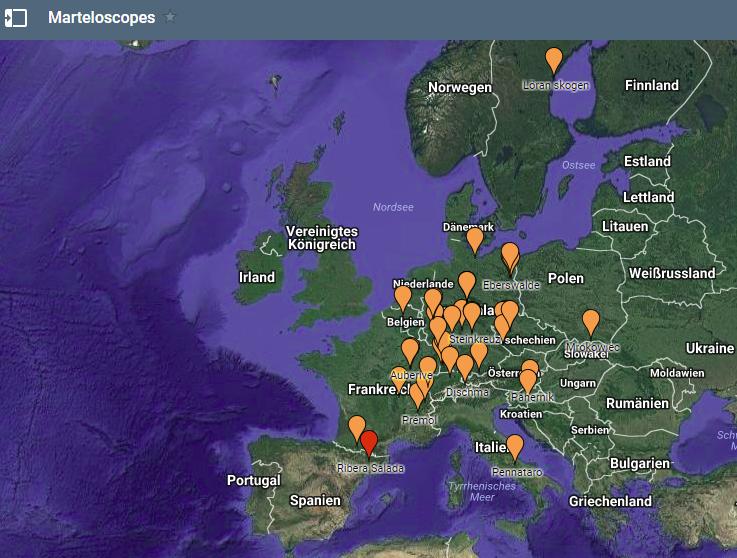 Marteloscope sites