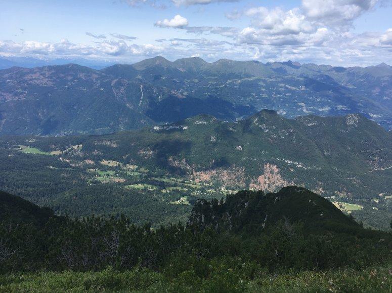 Mountain landscape of Trentino Alto-Adige region