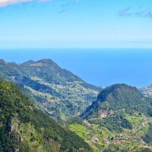 View from the Balcoes viewpoint, Madeira, Portugal