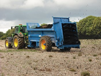 Biofertilizer spreading - credit to GENeco