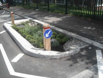 Embleton Road rain garden - credit to Bristol City Council