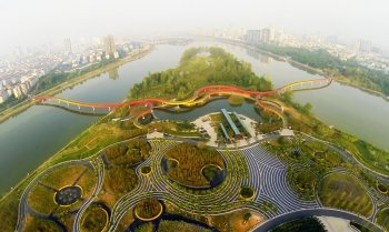 Jinhua Wetland Park. Credit: Turenscape Architects