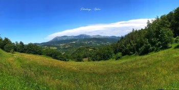 Natural landscape of Pietralunga, Umbria
