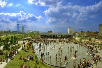 Park Spoor Noord opening day: Credit City of Antwerp