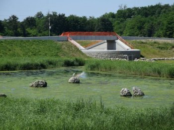 Retention basin of Lura park (1)