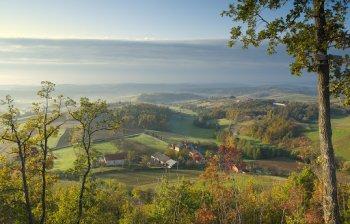 Landscape in Varaždin County