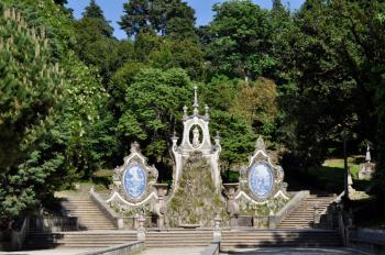 Urban green space in Coimbra