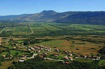 'Čepićko polje' in Istria, Croatia - possible area for extensive truffle production