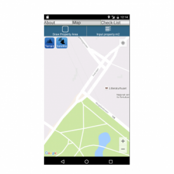 Blue-Green Factor app screenshot